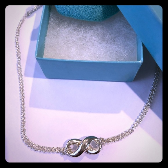 Tiffany & Co. Jewelry - Tiffany & Co. Sterling Silver Infinity Necklace